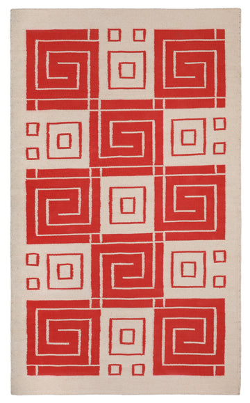 Whirling Arrow Flat Weave Rug