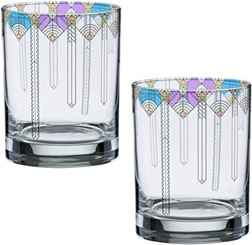 Photo of two April Showers Double Old Fashioned Glasses