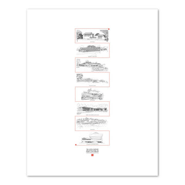 UNESCO World Heritage Print I