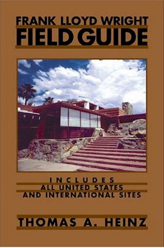 Front cover of Frank Lloyd Wright Field Guide.