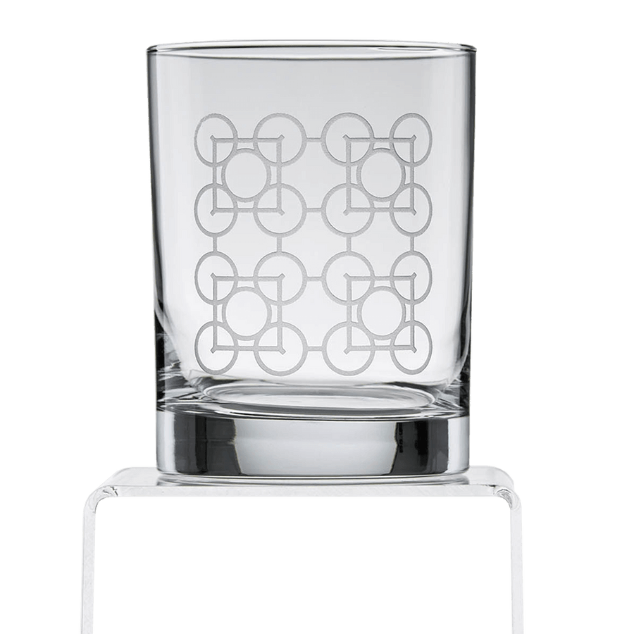 Photo of Luxfer Prism Double Old Fashioned Etched Glass