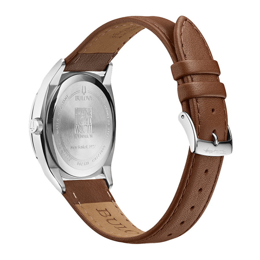 May Basket Watch, dial back and watchband