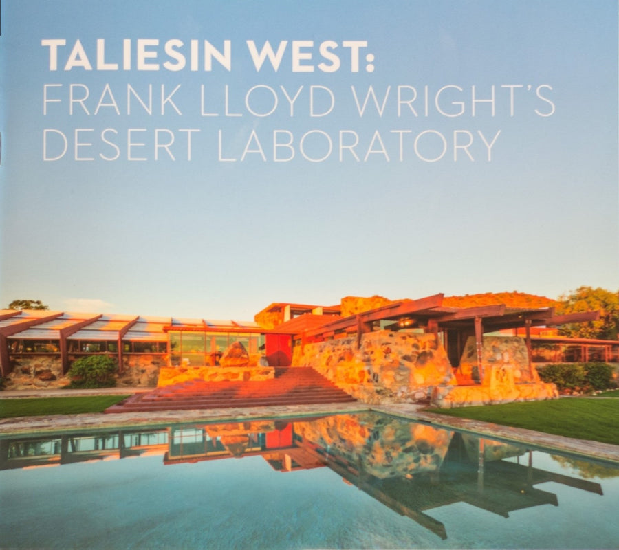 Photo of the cover of the Taliesin West Desert Laboratory guidebook