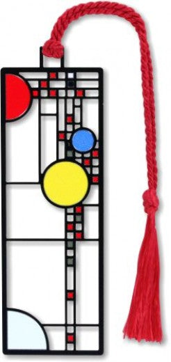 Playhouse Window Bookmark with red tassle