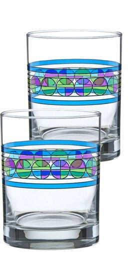 Photo of two Saguaro Double Old Fashioned Glasses