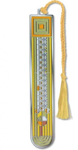 Saguaro Forms Bookmark with yellow tassel