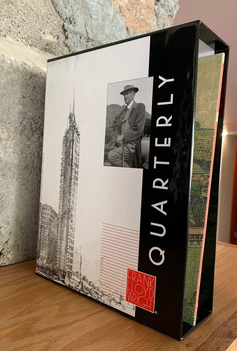 Frank Lloyd Wright Quarterly Slipcase