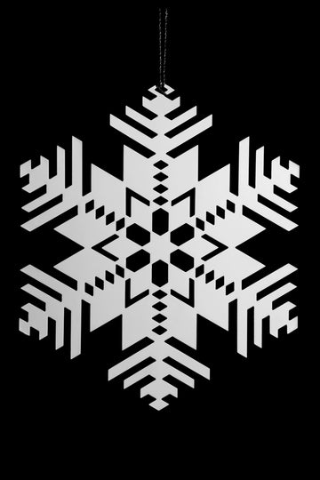 Frank Lloyd Wright - Snowflake 2D Ornament