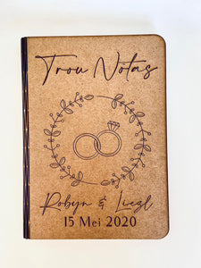 Wedding Note Book