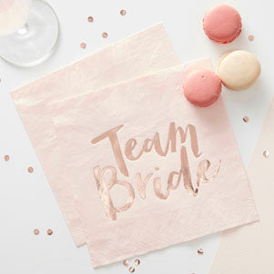 Team Bride Napkins