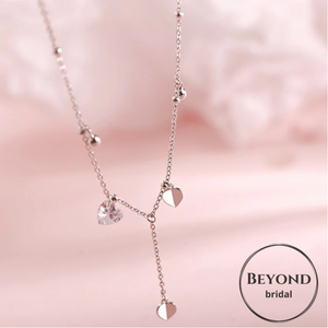 Beyond Jewellery - Crystal drop Choker Necklace