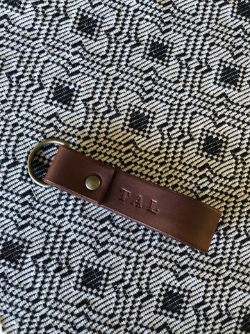 Custom Genuine Leather Keyring