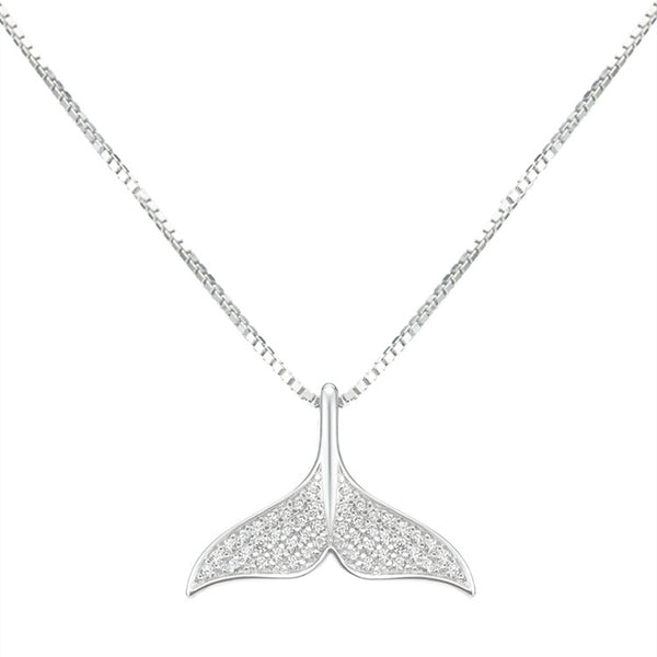 Beyond Jewellery - 925 Sterling Silver Mermaid's Tail Necklace