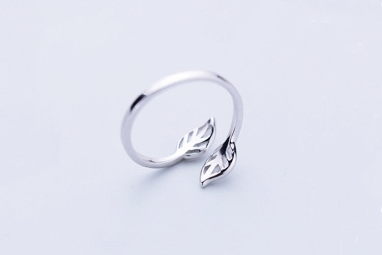 Beyond Jewellery - 925 Sterling Silver Leaf Ring