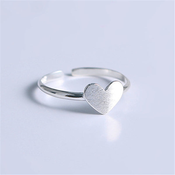 Beyond Jewellery - 925 Sterling Silver Heart Ring