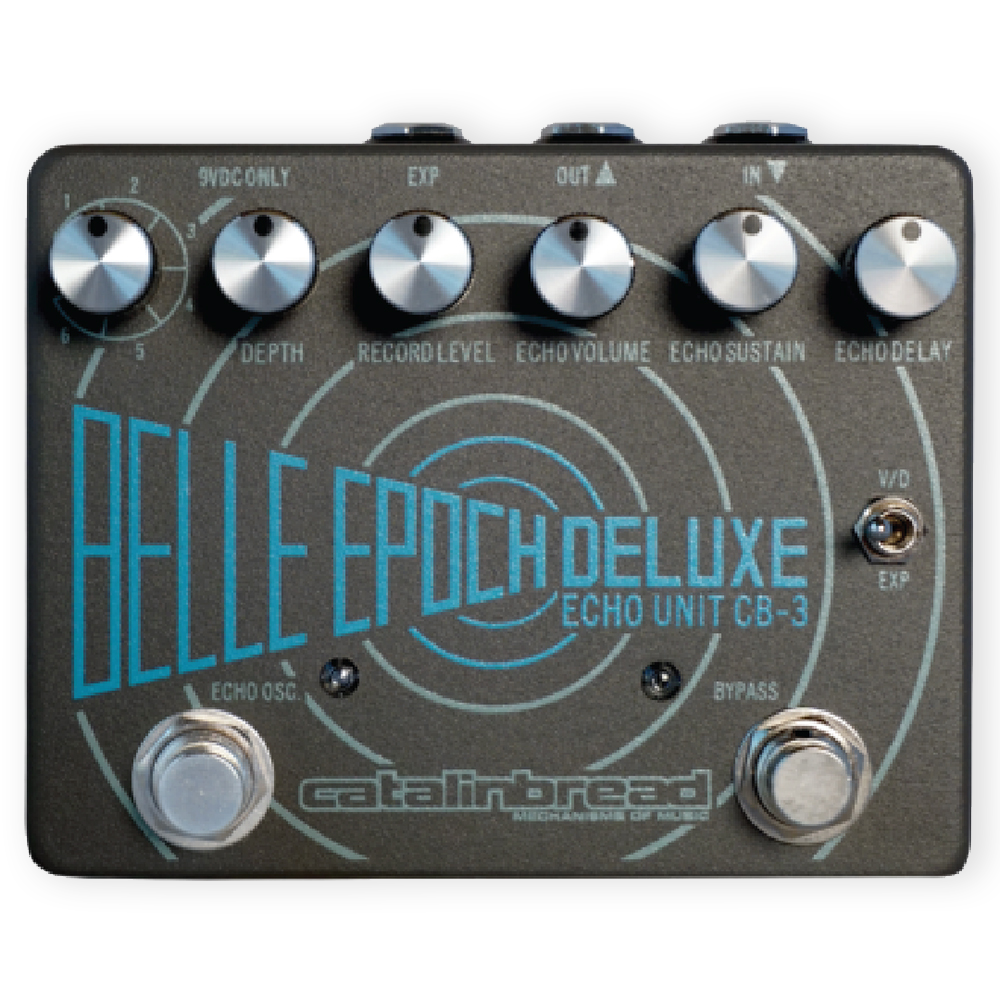 Catalinbread Belle Epoch Deluxe CB-3 Echo Unit