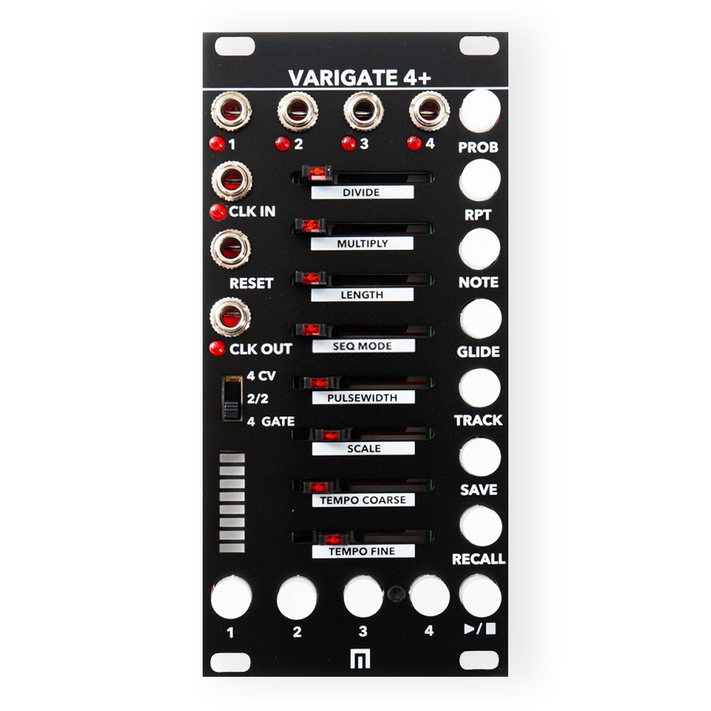 Malekko Varigate 4+ Gate / CV Sequencer Eurorack - Black