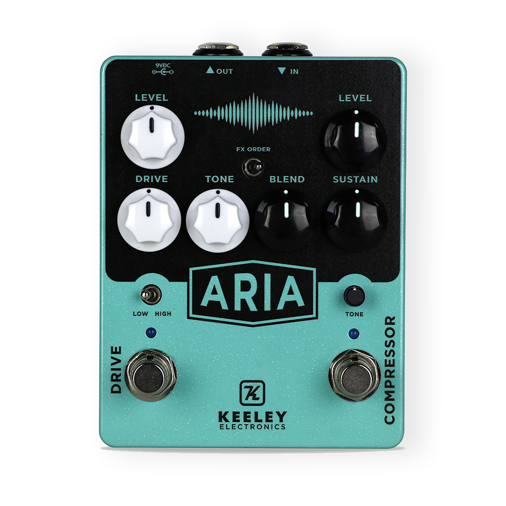 Keeley Electronics Aria Compression & Overdrive