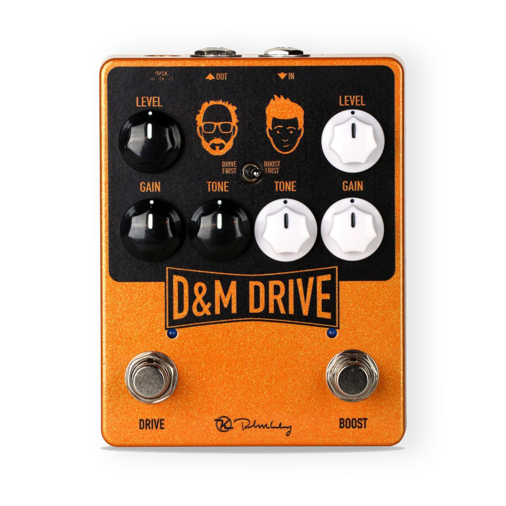 Keeley Electronics D&M Dual Drive & Boost