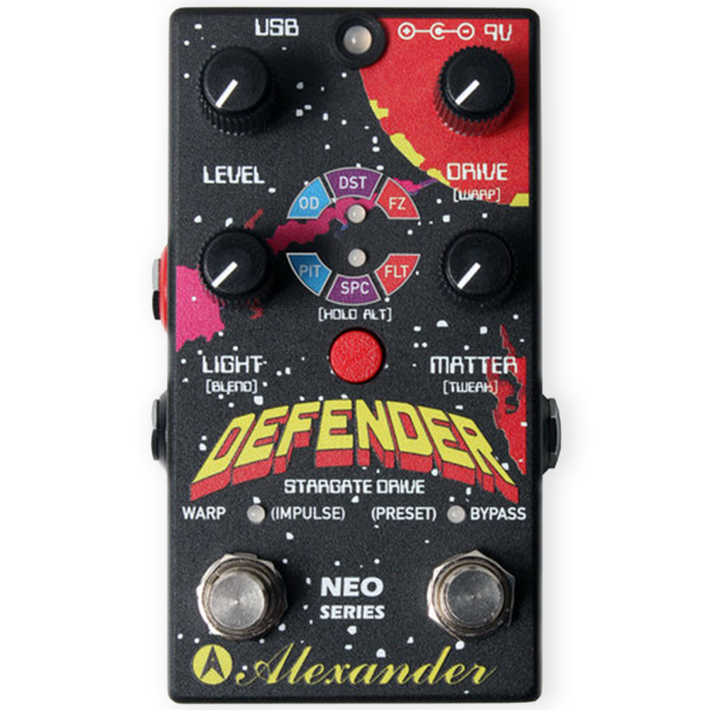 Alexander Defender Stargate Distortion