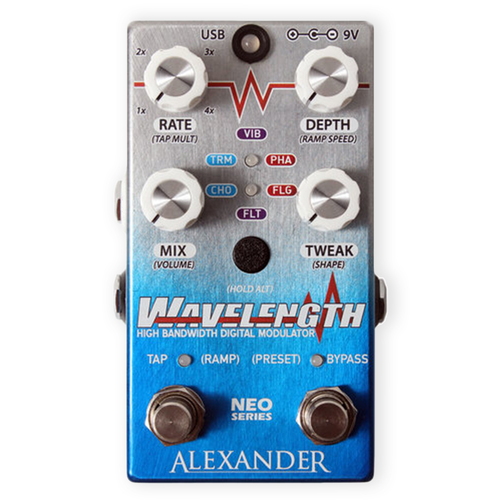 Alexander Wavelength High Bandwidth Digital Modulator