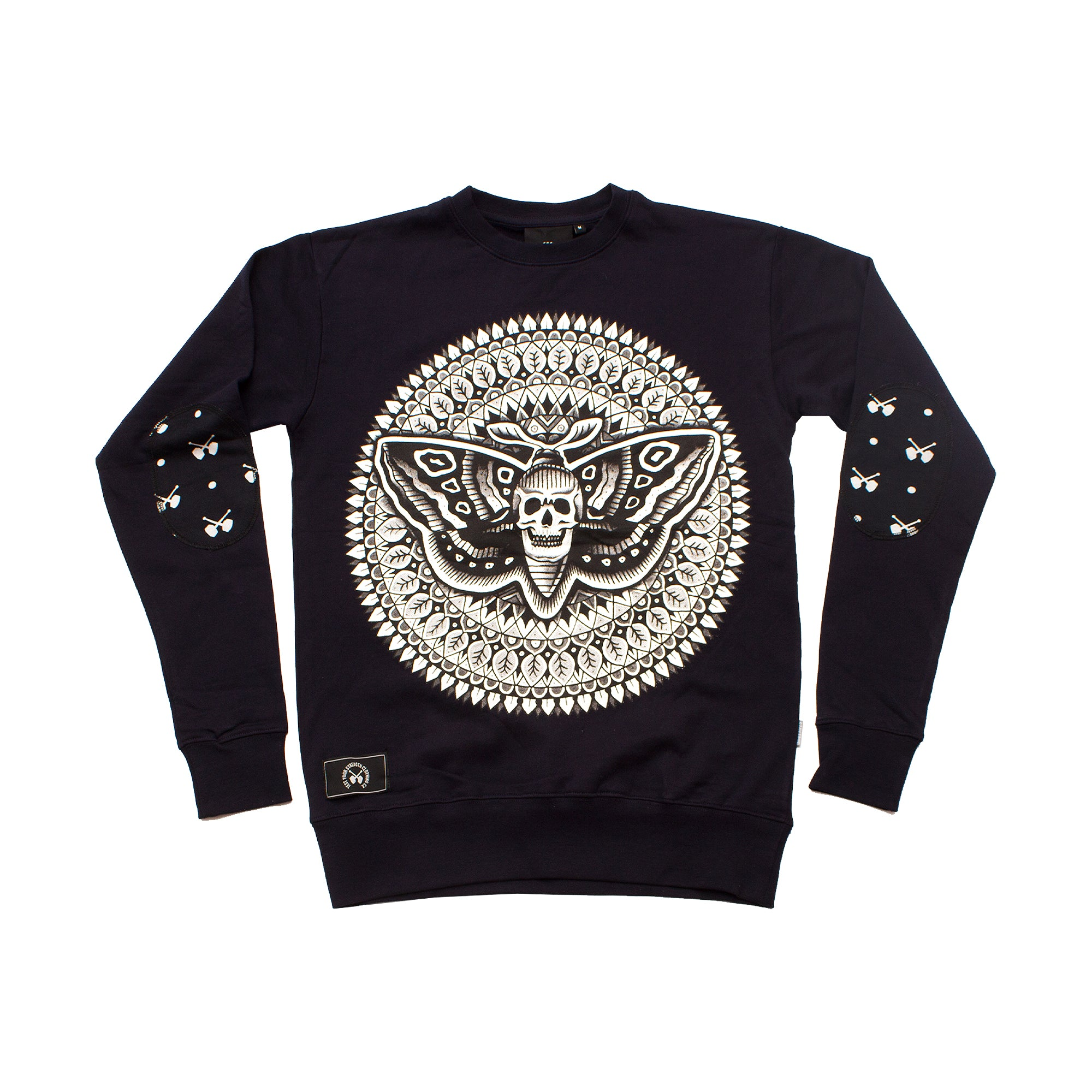 Deathhead Sweater - Dark Navy