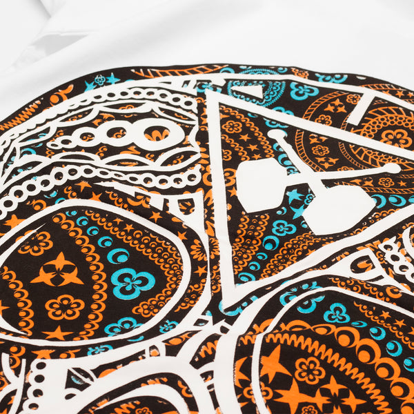 Candy Paisley White