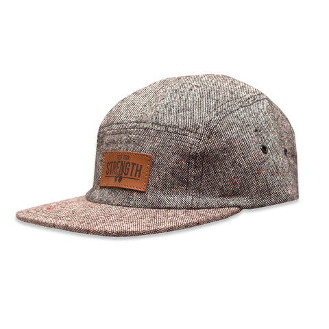 5 Panel 'Flecked' Two Tone