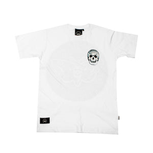 Deathhead Backprint White