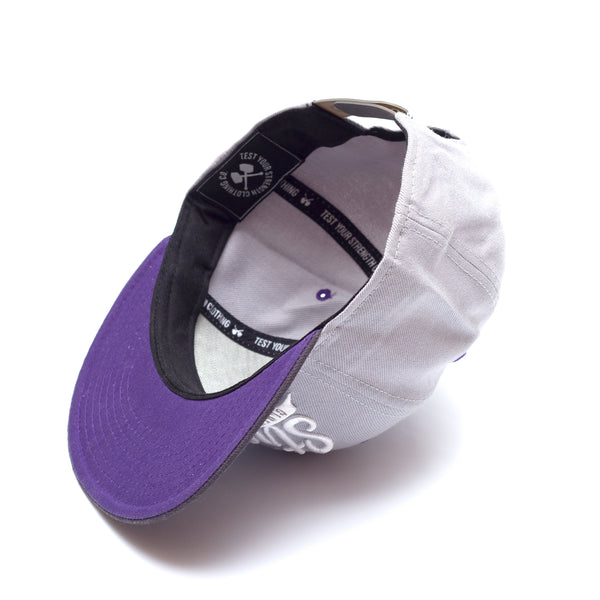 Strength Grey/Purple Snapback