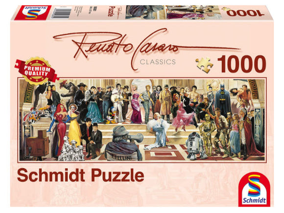 Renato Casaro: 100 Years of Film 1000 Piece Puzzle by Schmidt