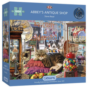 Abbey's Antique Shop 1000 Piece Puzzle By Gibsons