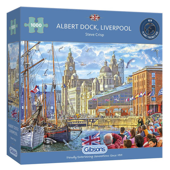 Albert Dock 1000 Piece Puzzle By Gibsons