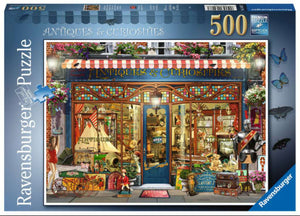 Antiques and Curiosities 500 Piece Puzzle by Ravensburger