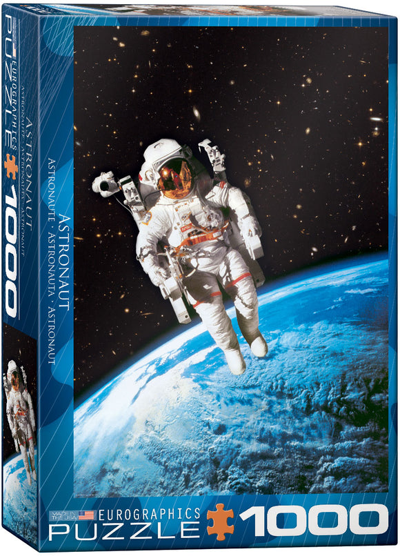 Astronaut 1000 Piece Puzzle by Eurographics