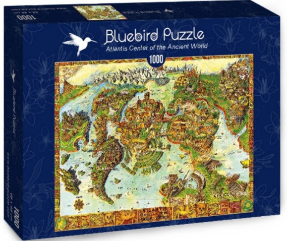 Atlantis Centre of the Ancient World 1000 Piece Puzzle by Bluebird Puzzle