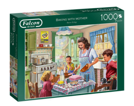 Baking With Mother 1000 Piece Puzzle by Falcon