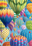 Colourful Balloons in the Sky 1000 Piece Puzzle by Schmidt