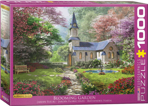 Blooming Garden by Dominic Davison 1000 Piece Puzzle by Eurographics