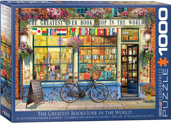 The Greatest Bookstore In The World 1000 Piece Puzzle by Eurographics