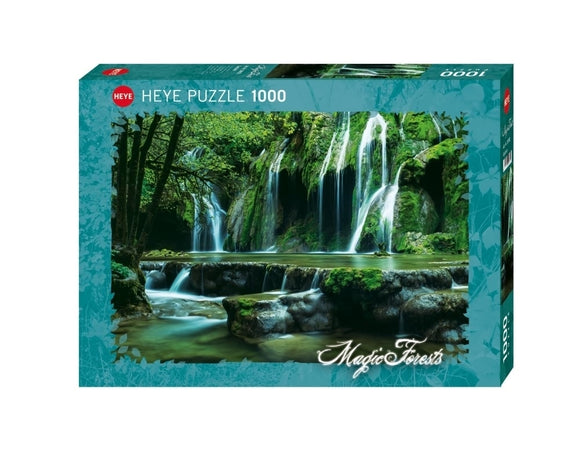 Cascades Magic Forest 1000 Piece Puzzle by Heye