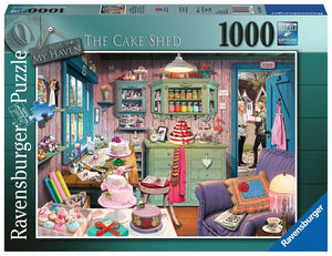 My Haven No.5, The Cake Shed 1000 Piece Puzzle by Ravensburger