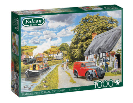 Parcel For Canal Cottage 1000 Piece Puzzle by Falcon