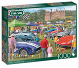 The Car Show 1000 Piece Puzzle by Falcon