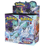 Pokémon TCG: Sword and Shield 6 Chilling Reign Booster CDU Sealed Pack of 36