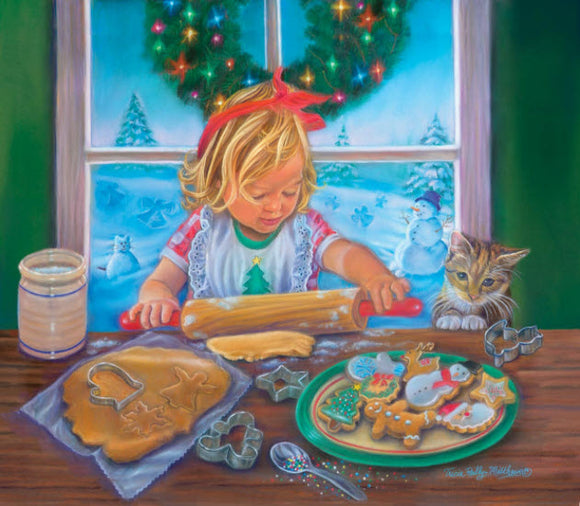 Christmas Cookies Puzzle 300 XXL Pieces by SunsOut