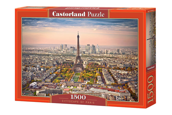 Cityscape of Paris 1500 Piece Puzzle by Castorland