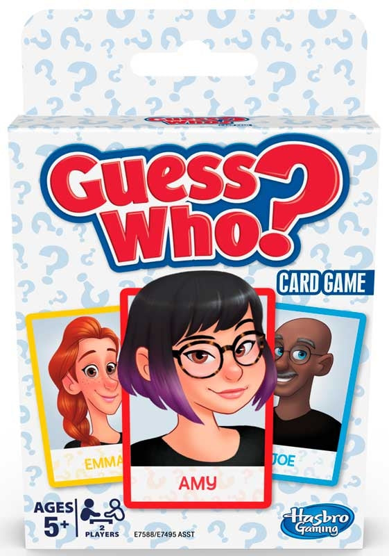 Classic Card Travel Game Guess Who?