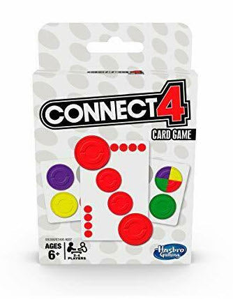 Classic Card Travel Game Connect 4