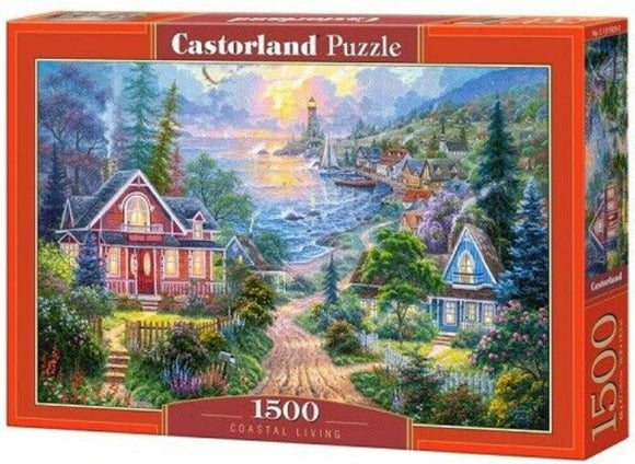 Coastal Living 1500 Piece Puzzle by Castorland